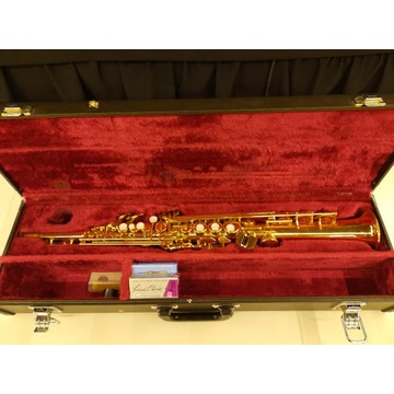 Saksofon sopranowy YAMAHA YSS-475 super okazja