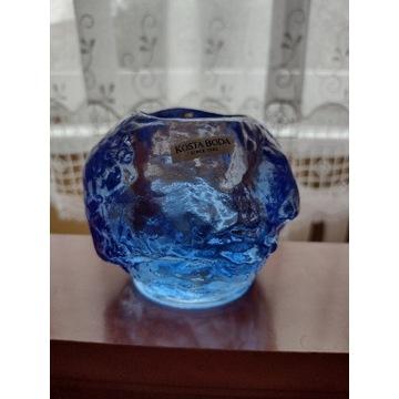 Świecznik Kostka Boda niebieski