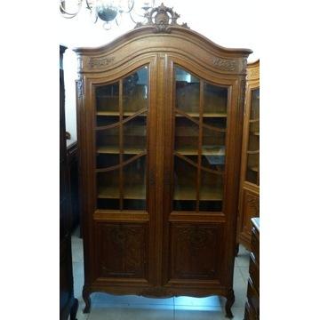 Biblioteka,witryna rocaille-sklep Dąbrowa Górnicza