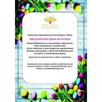 Catering Wielkanocny w Hotelu Willa Zagórze