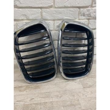 Oryginalne nerki - grill BMW X4 - G02 (lewa+prawa)