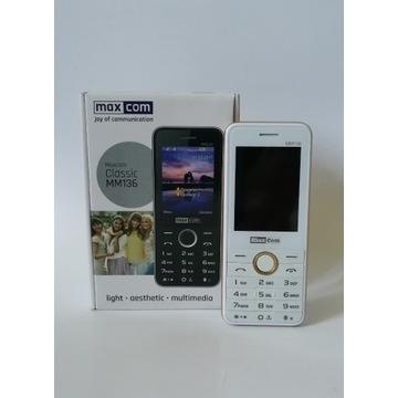 Telefon komórkowy Maxcom Classic MM136