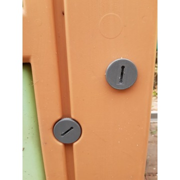 Smoby domek ogrodowy - śruba / nakrętka 12sztuk