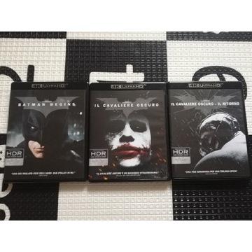 Batman Trylogia 4k Polska wersja językowa