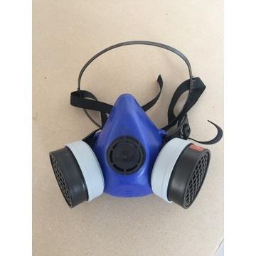Maska Lakiwrnicza Przeciwpyłową Podwójna Filtr A1