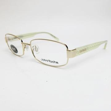 John Rocha JR01 oprawki okulary zerówki perłowe