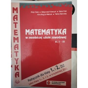 Matematyka w zasadniczej szkole zawodowej kl I-III