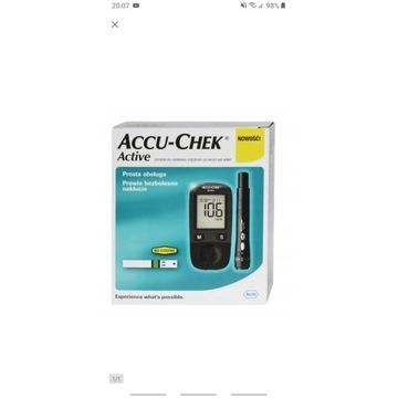 Sprzedam nowy glukometr Accu-Chek Active.