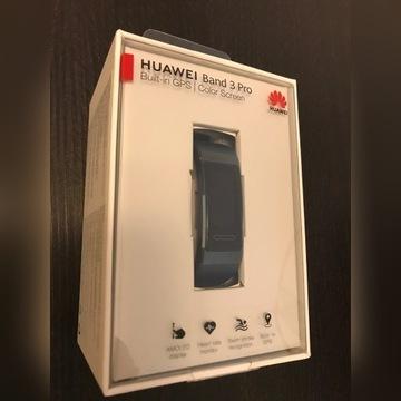 Huawei Band 3 Pro niebieska