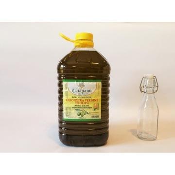 Oliwa z oliwek z Włoch Extra Vergine 5L + butelka