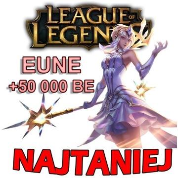 League of Legends KONTO EUNE UNRANKED +50k BE -PSC