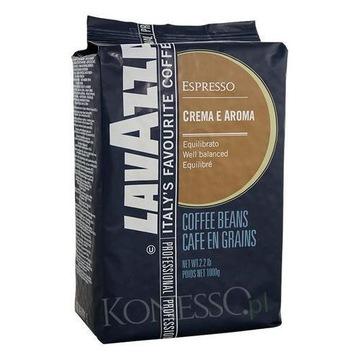 LAVAZZA Crema e Aroma Blue E. Kawa ziarnista 1 kg