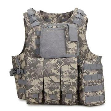 Kamizelka taktyczna wojskowa - L