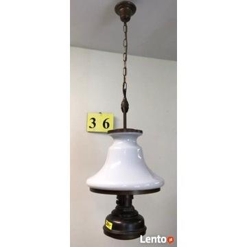 Lampa stara wisząca - podwójne oświetlenie