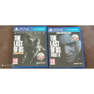 The last of us remastered i The last of us part II