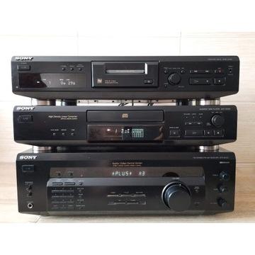 Wieza skladanka Sony amplituner/cd/md