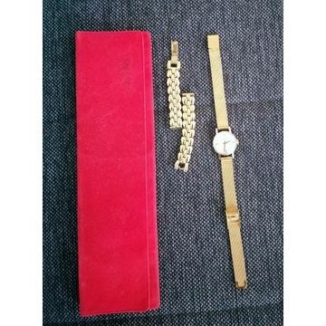 Złoty Zagarek doxa złoto 14k 585 antyk jedyny taki