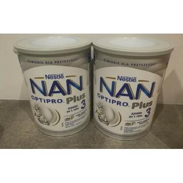 Dwa mm Nan Plus 3 i jedno Nan2