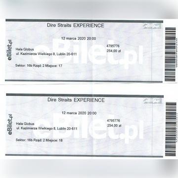 Bilet na koncert Dire Straits