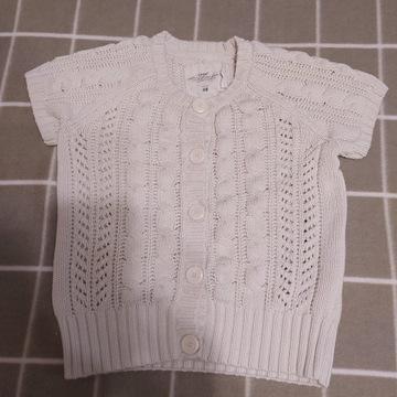 sweterek bolerko krótki rękaw H&M L.O.G.G. r. 158