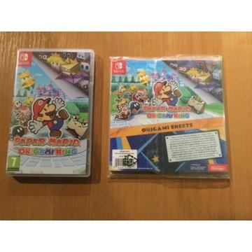 Paper Mario The Origami King + Bonus
