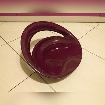Nowe siedzisko do hokera kolor śliwkowy