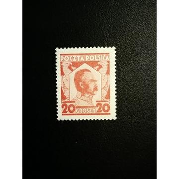 Fi 226 c ** Piłsudski karmin. mat - 1927r.