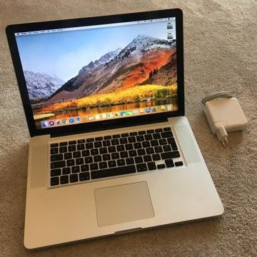 MacBook Pro 15 i7 do 3.3GHz - 2011 - SSD 480GB 8GB