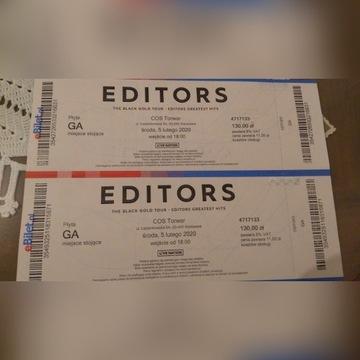 Bilety Editors Torwar
