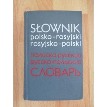 Słownik polsko-rosyjski i rosyjsko polski