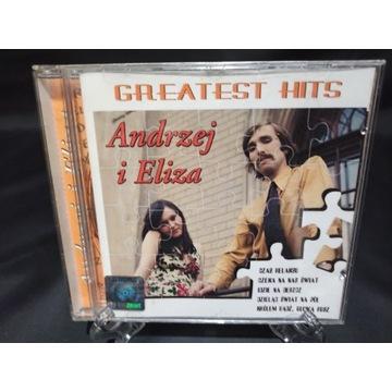 Andrzej i Eliza Greatest hits płyta cd bcm od 1zł