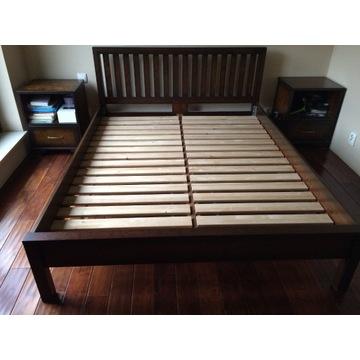 Sprzedam łóżko+2 szafki nocne