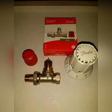 Zestaw Głowica termostatyczna Doinfoss i Zawór