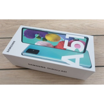 Samsung Galaxy A51 Blue 128GB z FV z Orange NOWY