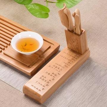 Bambusowy Zestaw do Herbaty