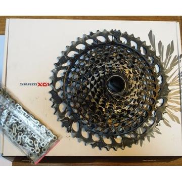 X 01 KASETA SRAM 12 x01 10 - 52 +łańcuch w pudełku