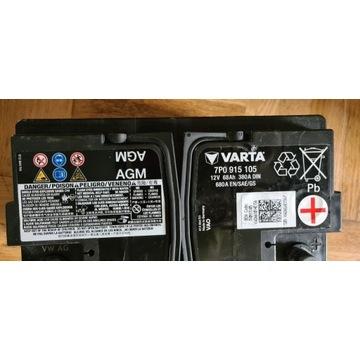 Akumulator Varta AGM 68Ah 680A