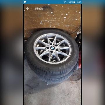 felgi BMW R16 5*120 z oponami Pirelli