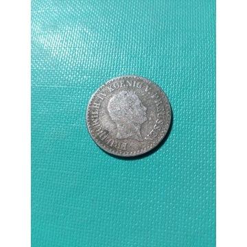 1 Silber groschen 1843 A