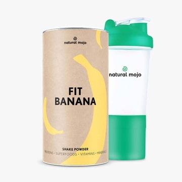 Promocja!! Banan+szejkerNatural Mojo