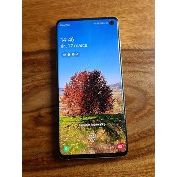 Samsung galaxy s10 perłowy w stanie idealnym