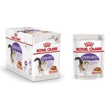 Royal Canin Sterilised SAUCE 12*85g