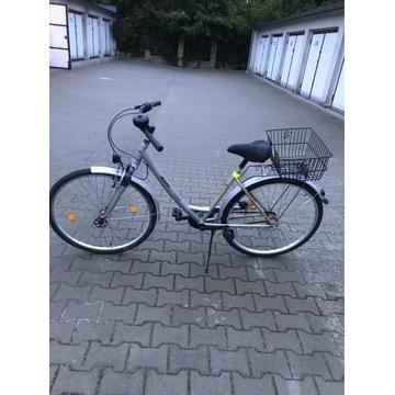 Rower damka niemiecki 3 biegi - koła 28 cali