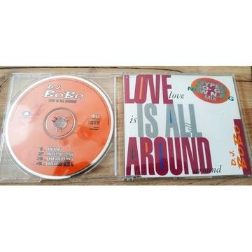 DJ BOBO - LOVE IS ALL AROUND UK REMIX unikat!