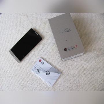 LG G3 SMARTFON, jak nowy, ale nie włącza się