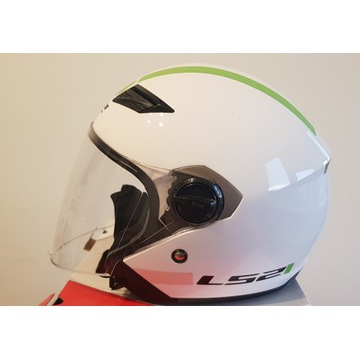 KASK LS2 OF569.2 TRACK L WHITE GLOSS