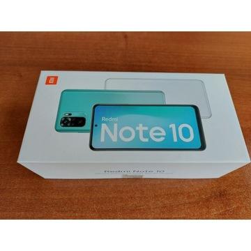 XIAOMI Redmi Note 10 Onyx Gray 4GB RAM, 64GB Nowy