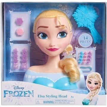 Kraina Lodu - Głowa do stylizacji Elsa Frozen
