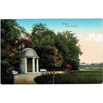 Głogów, Glogau, Goethe-Pavillon, 1917 rok