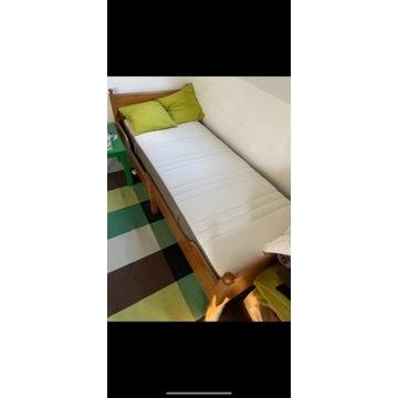 Łóżko drewniane - rozsuwane
